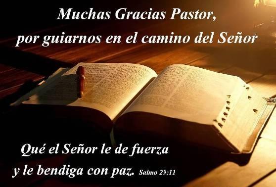 Muchas Gracias Pastor